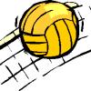Городские соревнования по волейболу среди школьников.