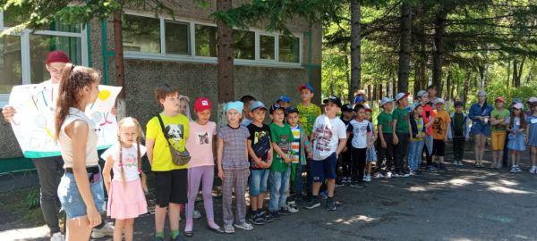 Открытие летнего пришкольного лагеря!